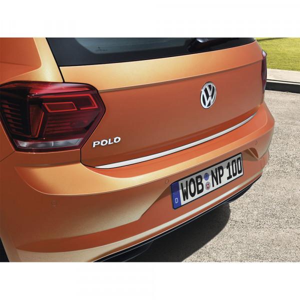 VW Chrom Optik Heckleiste Polo 2G 2G0071360 Heckschutzleiste Heckklappe