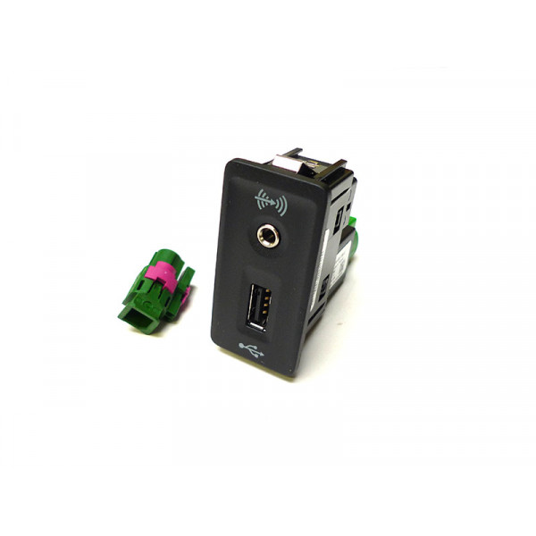 VW Multimedia-Kit 3G0057342A Apple USB Buchse zum Nachrüsten Set