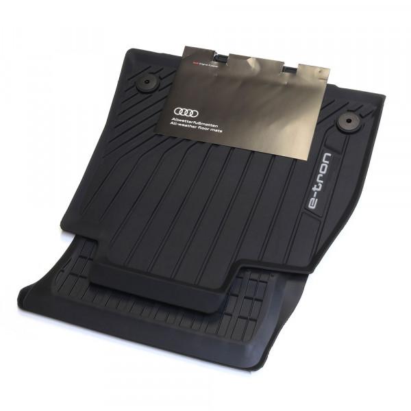 Audi e-tron Allwetterfussmatten vorn 2 tlg. Gummifussmatten Matten Fußmatten NEU Original Premium 4KL061501 041