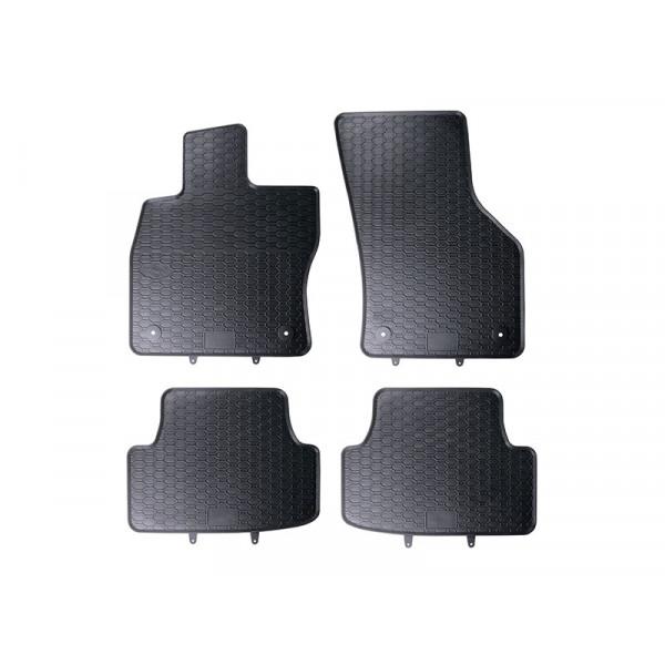 hinten Original Audi Fußmatten Schwarz NEU! AUDI A2 Gummifußmatten-Satz vorn