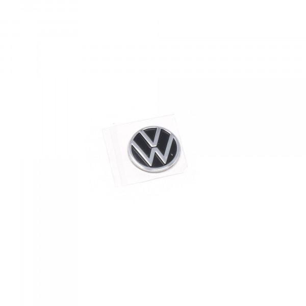 VW Emblem Autoschlüssel neues Logo 10mm Zündschlüssel Zeichen Plakette 5H0837891  FOD