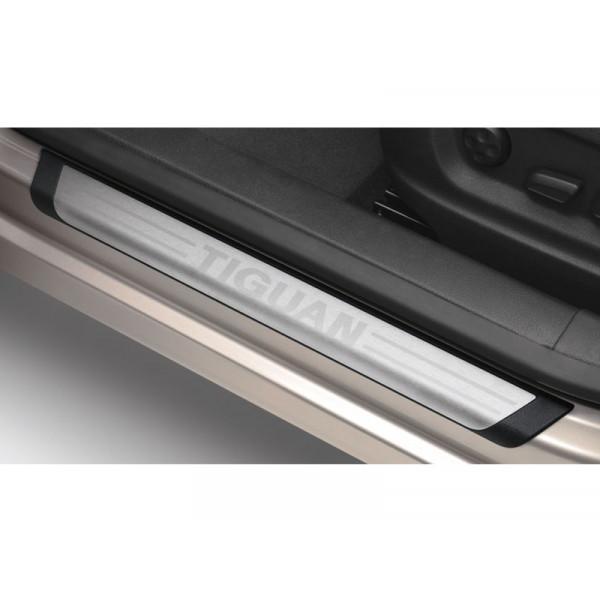 VW Original Aluminium Edelstahl Einstiegsleisten vorn hinten Tiguan 5N0071303