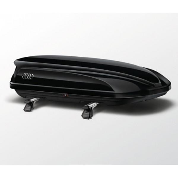 Audi Original Dachbox 300 l abschließbar Skibox Gepäckbox 8V0071200 Y9B Schwarz