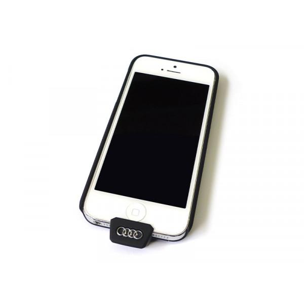 Audi Original iPhone 5 5S SE Wireless Ladehülle 8W0051435A Qi fähig Cover Schale