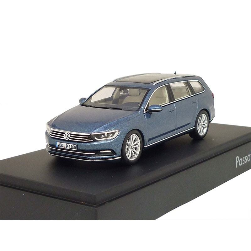 vw passat variant b8 1 43 harvard blue metallic 3g9099300a b5j. Black Bedroom Furniture Sets. Home Design Ideas