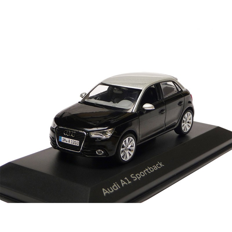audi a1 sportback phantomschwarz 1 43 modellauto 5011201033. Black Bedroom Furniture Sets. Home Design Ideas