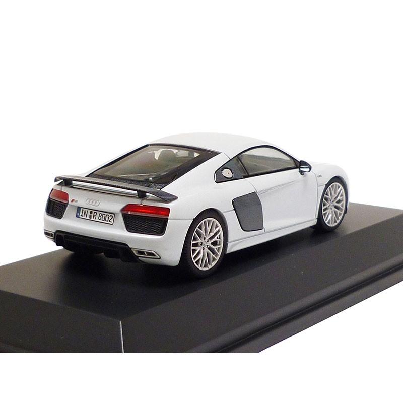 Audi R8 V10 Plus Coupe 2015 Suzukagrau 1:43 Modellauto