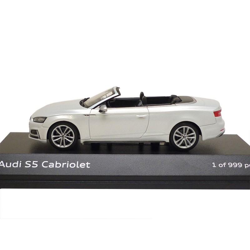 1995 Audi Cabriolet Camshaft: Audi S5 Cabriolet 1:43 Tofanaweiß 5011615331 Jadi