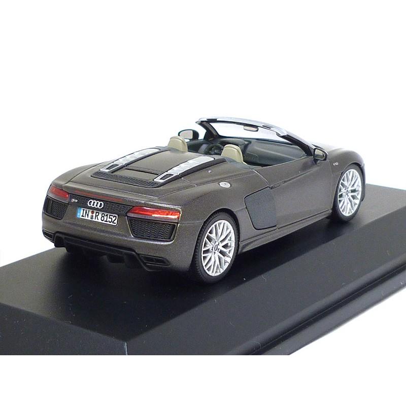 Audi R8 Spyder V10 1:43 Argusbraun Matt 5011618533 Herpa