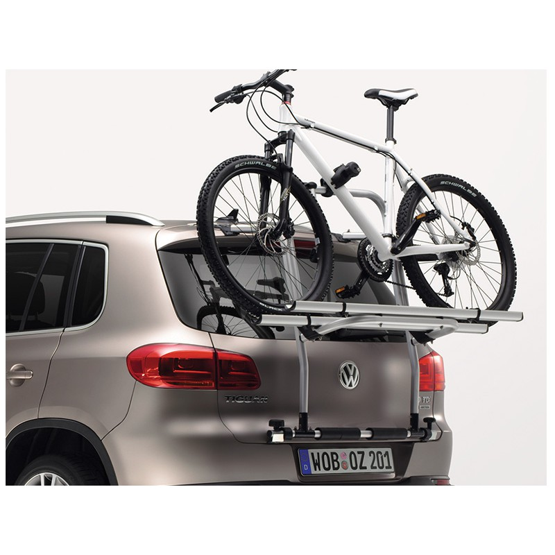 vw original fahrradtr ger f r heckklappe tiguan hecktr ger. Black Bedroom Furniture Sets. Home Design Ideas