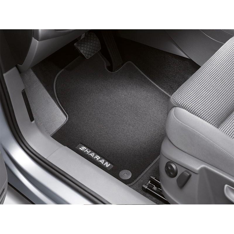 vw original premium fussmatten sharan 7n vorn hinten satz. Black Bedroom Furniture Sets. Home Design Ideas