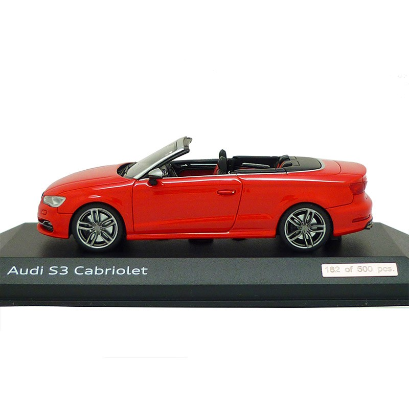 Audi S3 Cabriolet Misanorot 1:43 Modellauto 5011313313