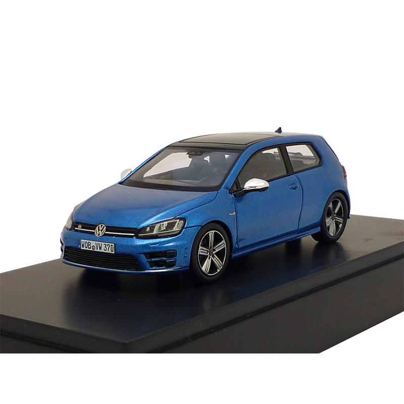 vw golf 7 r rising blue metallic 3 t rig 1 43 modellauto. Black Bedroom Furniture Sets. Home Design Ideas