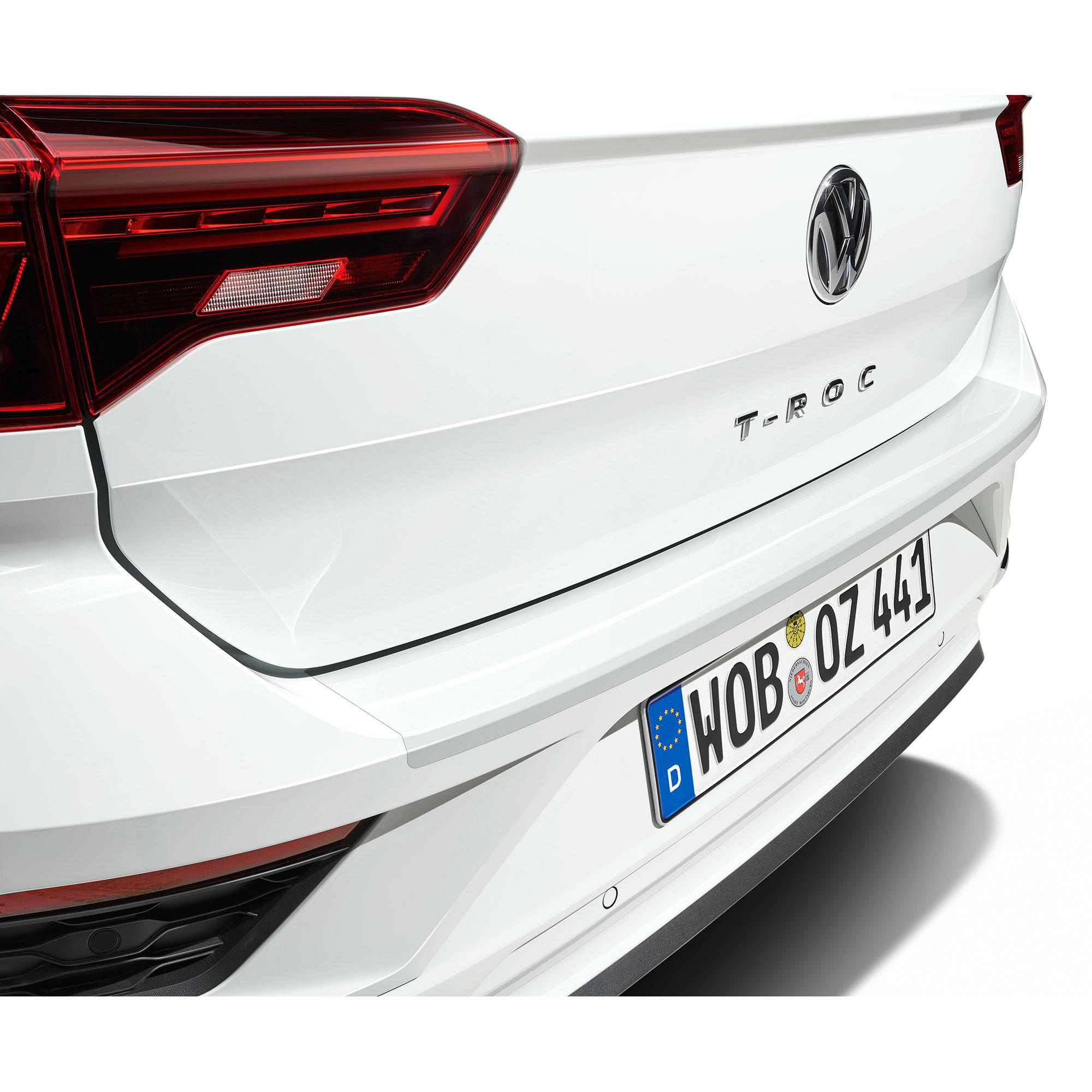 VW T-Roc  Ladekantenschutz Lackschutzfolie Schutzfolie Schwarz Matt 10204
