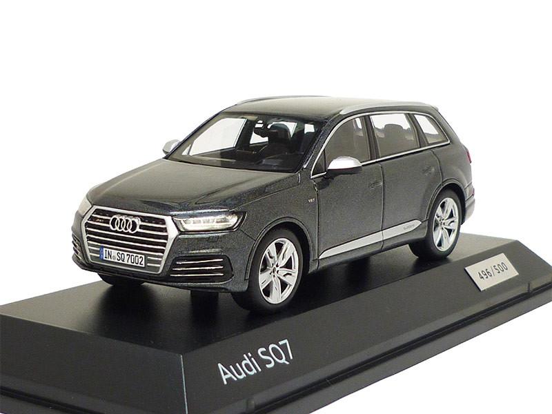 Audi sq7 1:43 daytonagrau 5011617613 coche modelo limitado 2016 Minimax gris q7