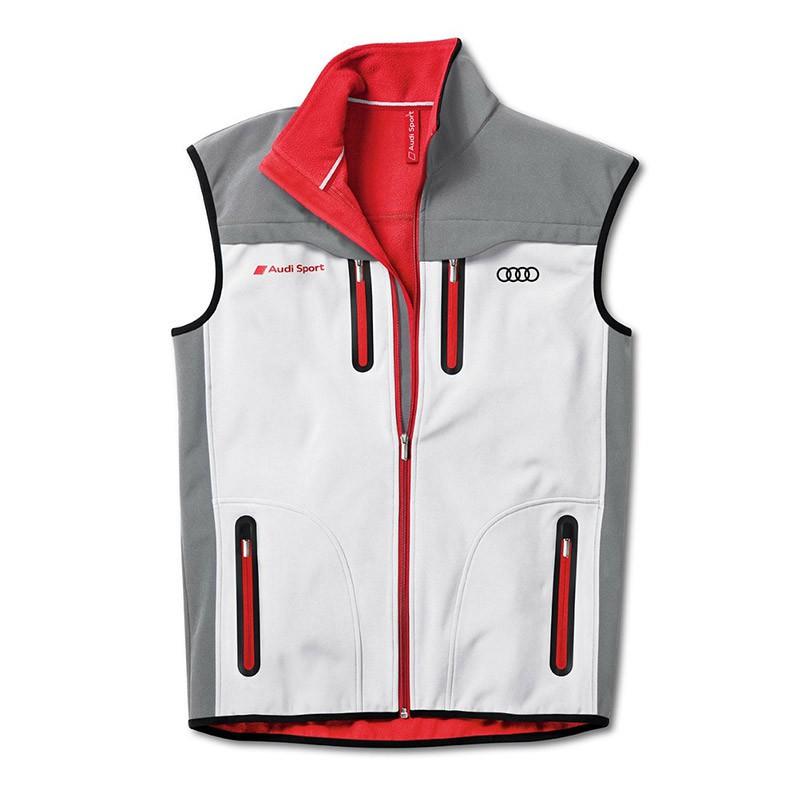 Audi Sport Herren Softshell Weste 313120170 3131201702