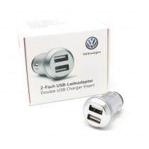 VW USB 2 Fach Ladeadapter 000051443D 2,4A Adapter Zigarettenanzünder Schnelllade Original