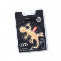 Audi Duftgecko Goldoptik Aromatisch Zimtig Weihnachten Lufterfrischer Autoduft Duftbaum 000087009AS
