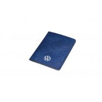 VW Fahrzeugscheinhülle Blau Dokumentenmappe Mappe für Papiere 000087404E
