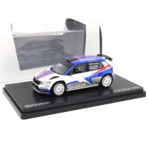 Skoda Fabia III R5 1:43 Modellauto 000099300BT Miniatur Modell Rallye 100 Jahre Tschechische Republik Original Abrex