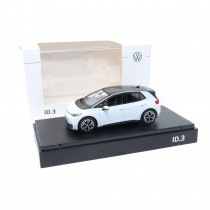 VW ID.3 1:43 Gletscherweiß Modellauto 10A099300 EK8 Miniatur Norev ID 3 Original