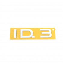 VW ID.3 Schriftzug Emblem Logo Heckklappe Weiß hinten 10A853687A C9A