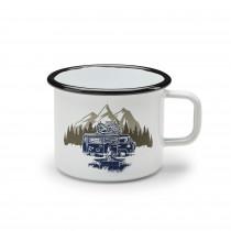 VW Emaillebecher Emaille Tasse Kaffeebecher 500ml T1 Bulli Trinkbecher 1H2069601