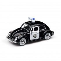 VW Police Bettele 1966 Polizei Schwarz Weiß Käfer 1H2099303