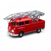 VW Feuerwehr Modellauto Type 2 Rot 1:24 T1 Bulli 1H2099303B