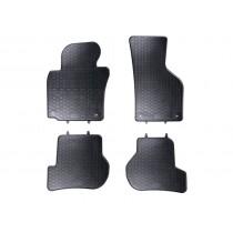 VW Gummifussmatten Satz Golf 5 6 Jetta Scirocco vorn hinten Gummi Fußmatten