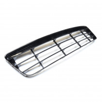 Gitter Blende Abdeckung Stoßfänger vorn schwarz Original VW Scirocco 1K8853677A 041