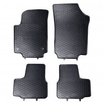 Gummifussmatten Satz VW Up Seat Mii Skoda Citigo vorn hinten