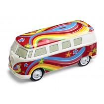 VW Original Bulli T1 Bus Keramik Spardose 211087709B 2K2 Sparschwein Rot