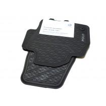 VW Allwetterfussmatten Satz Polo 2G1061500 Gummimatten Fußmatten vorn hinten Gummimatten
