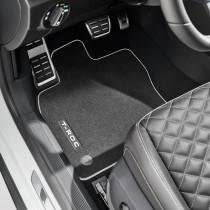 Textilfußmatten VW T-ROC Cabrio 4er Set