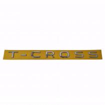 VW T-Cross Schriftzug Chrom Emblem Logo Heckklappe Hinten 2GM853687A 2ZZ