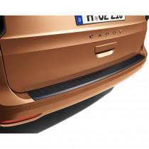 Original VW Caddy 5 Ladekantenschutz Schwarz 2K7061195A hinten Stoßstange Kantenschutz Schutz