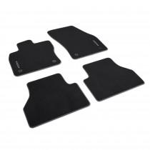 """Original VW Caddy 5 Textilfußmatten """"Premium"""" Vorne Hinten Stoffmatten Fußmatten 2K8061270WGK 2K8061270 WGK"""