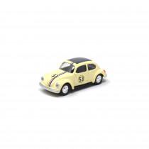 VW Käfer Beetle N°53 Herbie 1:64 Norev 310502 1/64 Modellauto Miniatur Nr. 53 Original Weiß