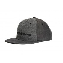 Audi Baseballcap quattro grau 3131700800 Snapback Cap Kappe Mütze