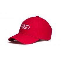 Audi Baseballcap rot 3131701010 Mütze Hut Kappe Cap Ringe
