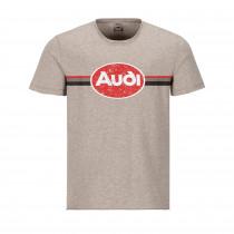 Audi Herren Heritage T-Shirt beige S -XXL