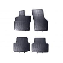 Gummifussmatten Satz A3 8V VW Sportsvan vorn hinten Gummimatten Gummi Fußmatten
