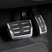 Audi A6 A7 4K Edelstahl Pedalkappen 4K1064205 Set S tronik Automatik Zubehör