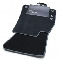 Audi A7 Textilfußmatten Premium vorn Fussmatten Stoffmatten Velours Gummi Matten 4K8061275 MNO Zubehör