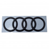 Audi Zechen Schwarz Hinten Heckklappe Logo Emblem Ringe 4M0853742D T94