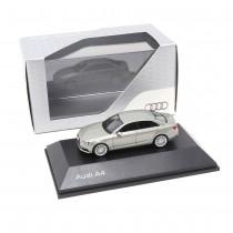 Audi A4 Limousine 1:87 Cuvéesilber 5011504112 Modellauto Miniatur Silber Herpa Original