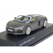 Audi R8 Spyder V10 1:43 Argusbraun matt 5011618533 Herpa Modellauto braun
