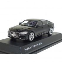 Audi A7 Sportback Mythosschwarz Modellauto 1:43 iScale 5011707032 1/43 Miniatur Schwarz Black