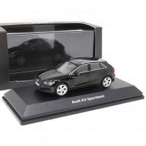 Audi A3 Sportback 1:43 Mythosschwarz Modellauto 5011903032 iScale Black Miniatur